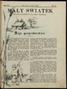 Mały Światek. R. 12, Nr 17 (1898/1899)