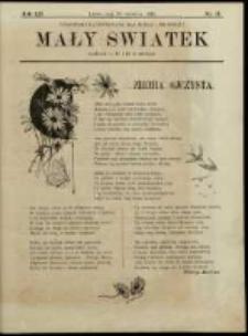 Mały Światek. R. 12, Nr 13 (1898/1899)