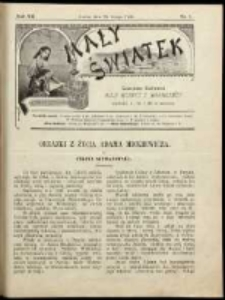 Mały Światek. R. 12, Nr 7 (1898/1899)