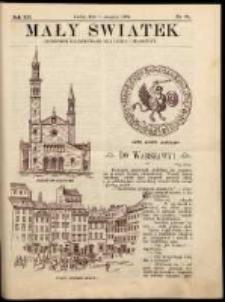 Mały Światek. R. 12, Nr 23 (1898/1899)