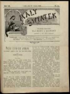 Mały Światek. R. 12, R. 25 (1898/1899)