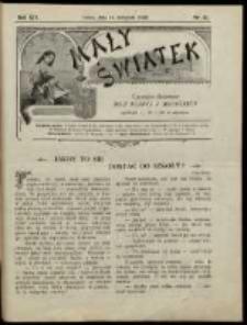 Mały Światek. R. 12, Nr 33 (1898/1899)