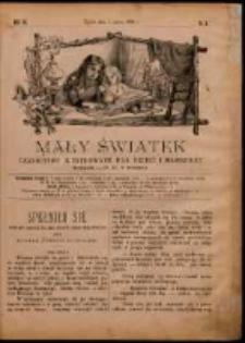 Mały Światek. R. 7, Nr 8 (1893/1894)