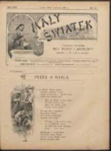 Mały Światek. R. 14, Nr 17 (1900/1901)