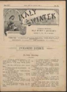 Mały Światek. R. 14, Nr 18 (1900/1901)