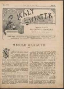Mały Światek. R. 14, Nr 22 (1900/1901)