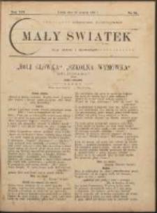 Mały Światek. R. 14, Nr 25 (1900/1901)
