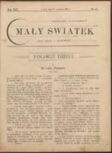 Mały Światek. R. 14, Nr 27 (1900/1901)