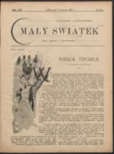 Mały Światek. R. 14, Nr 32 (1900/1901)