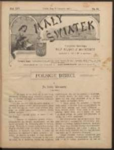 Mały Światek. R. 14, Nr 33 (1900/1901)