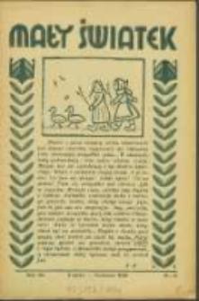 Mały Światek. R. 49, Nr 8 (1936)