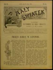 Mały Światek. R. 11, Nr 22 (1897/1898)