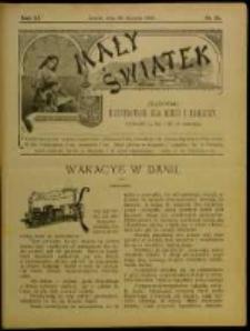 Mały Światek. R. 11, Nr 25 (1897/1898)