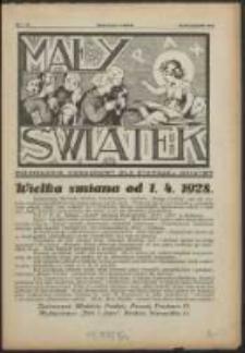 Mały Światek. R. 40, Nr 3 (1928)