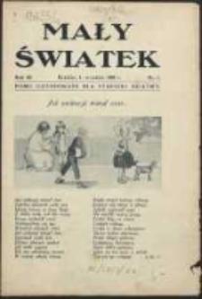 Mały Światek. R. 42, Nr 1 (1929/1930)