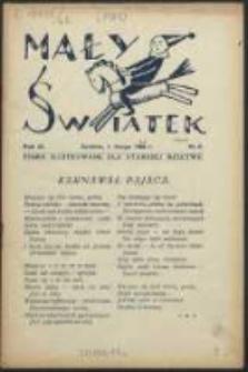 Mały Światek. R. 42, Nr 6 (1929/1930)