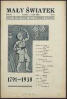 Mały Światek. R. 42, Nr 9 (1929/1930)