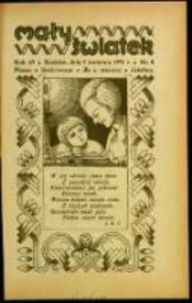 Mały Światek. R. 43, Nr 8 (1930/1931)