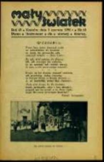Mały Światek. R. 43, Nr 10 (1930/1931)