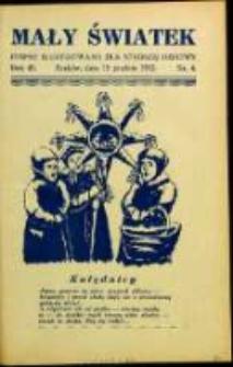 Mały Światek. R. 45, Nr 4 (1932/1933)