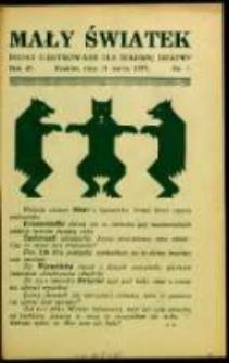 Mały Światek. R. 45, Nr 7 (1932/1933)