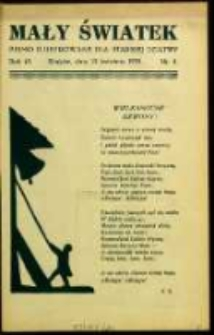 Mały Światek. R. 45, Nr 8 (1932/1933)