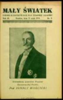 Mały Światek. R. 45, Nr 9 (1932/1933)