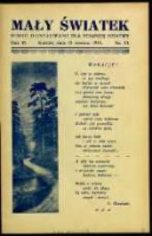 Mały Światek. R. 45, Nr 10 (1932/1933)