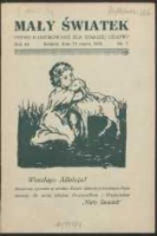 Mały Światek. R. 44, Nr 7 (1931/1932)