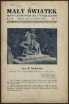 Mały Światek. R. 46, Nr 1 (1933/1934)