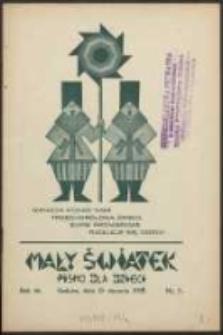 Mały Światek. R. 46, Nr 5 (1933/1934)
