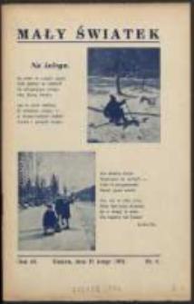 Mały Światek. R. 46, Nr 6 (1933/1934)