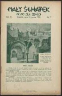 Mały Światek. R. 46, Nr 7 (1933/1934)