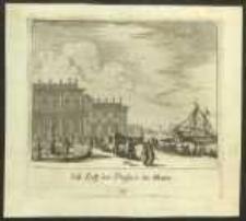 Lust Hoff und Prospect des Meers [Dokument ikonograficzny] / [J. W. Baur inv. ; Melchior Küsell fecit]