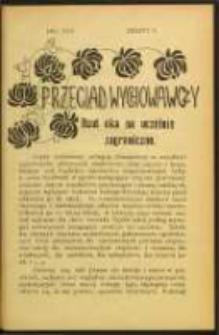 Przegląd Wychowawczy. Z. 10 (1914)