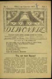 Dzwonnik. R. 1, Nr 1 (1924)
