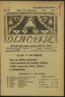 Dzwonnik. R. 1, Nr 22 (1924)