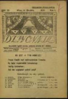 Dzwonnik. R. 1, Nr 25 (1924)