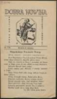 Dobra Nowina Bractwa Nauki Chrześcijańskiej. No 7 (1935)