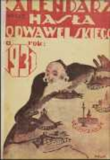 """Kalendarz """"Hasła Podwawelskiego"""" na Rok 1931"""