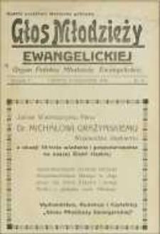 Głos Młodzieży Ewangelickiej R. 5, nr 8 (1936)