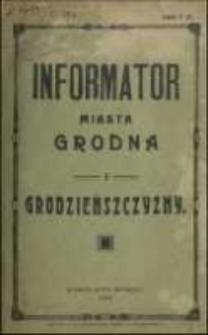 Informator Miasta Grodna i Grodzieńszczyzny. 1926