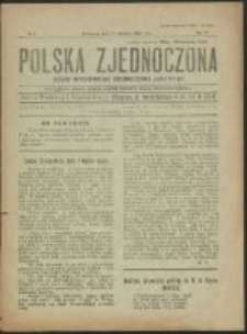 Polska Zjednoczona. R. 3, No 2 (1920)