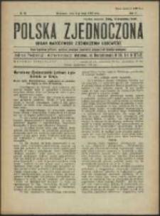 Polska Zjednoczona. R. 3, No 19 (1920)