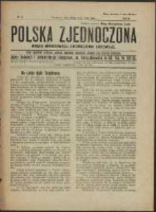Polska Zjednoczona. R. 3, No 22 (1920)