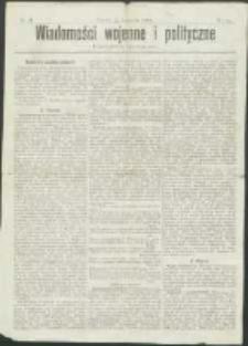 Wiadomości Wojenne i Polityczne nr 34 (1904)