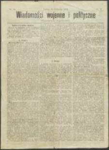 Wiadomości Wojenne i Polityczne nr 35 (1904)