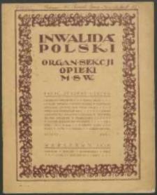 Inwalida Polski R. 1, z. 1 (1919)