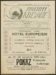 Nowiny Kresowe R. 2, no. 5 (1925)