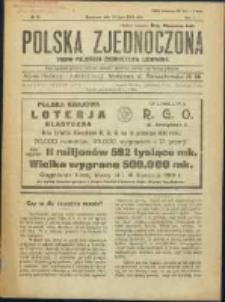 Polska Zjednoczona. R. 2, No 29 (1919)